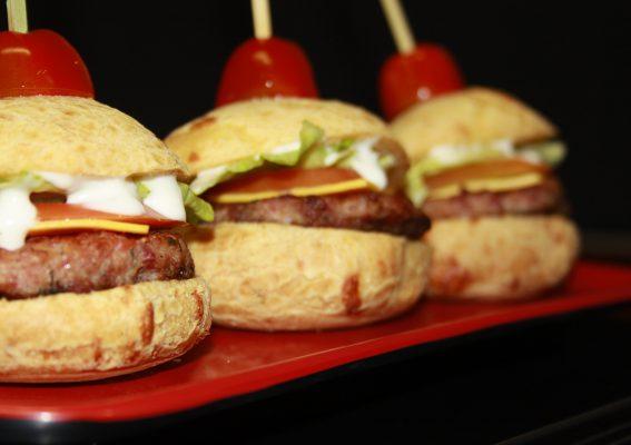 Mini Hambúrguer sabor Calabresa