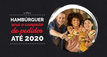 Hambúrguer ou pizza? Já sabemos qual será a resposta em 2020.