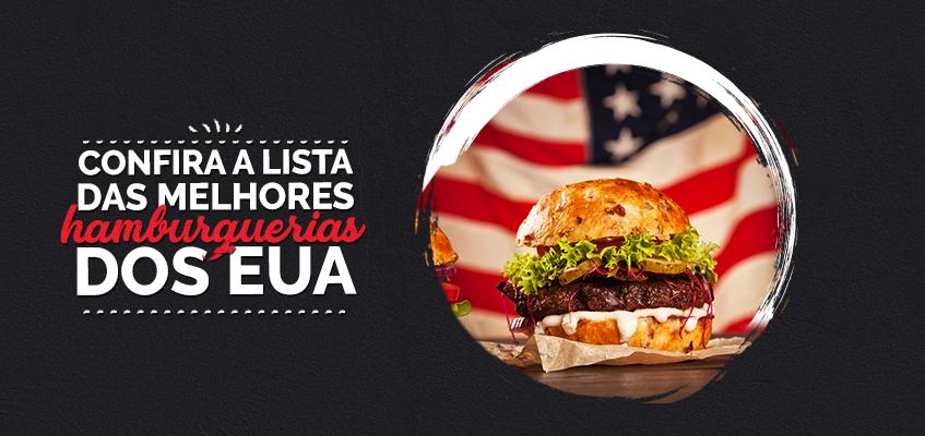 Os melhores hambúrgueres americanos